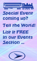 Add your own event advert